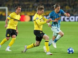 They also want to contribute to the return leg to Madrid: Mario Götze (l.) And Lukasz Piszczek (center, against Filipe Luis).