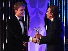 Nico Rosberg (links) und Emerson Fittipaldi