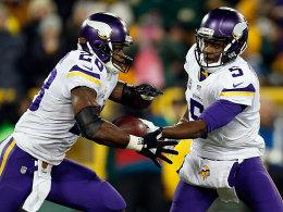Adrian Peterson und Teddy Bridgewater