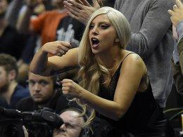 Sportbegeistert: Lady Gaga, hier bei den NBA Global Games in Berlin im Jahr 2014.