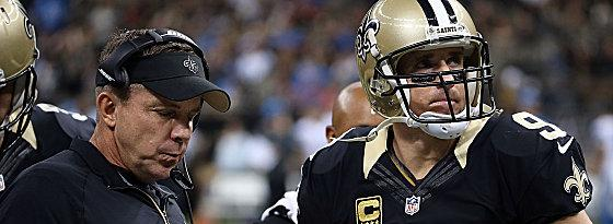 Sean Payton und Drew Brees