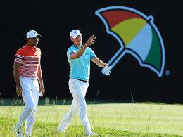 Martin Kaymer mit Jason Day