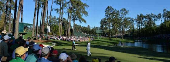 Highlight im Golf-Jahr: Das Masters in Augusta.