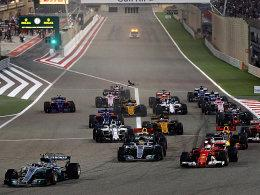 Start vom GP in Bahrain