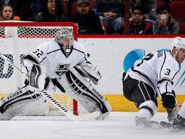 Kings-Goalie Jonathan Quick.