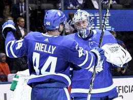 Morgan Rielly & Frederik Andersen