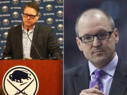 Tim Murray (l.), Dan Bylsma