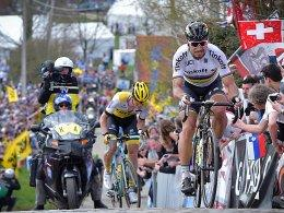 Peter Sagan vor Sep Vanmarcke