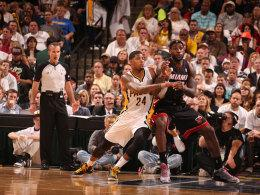 LeBron James gegen Paul George