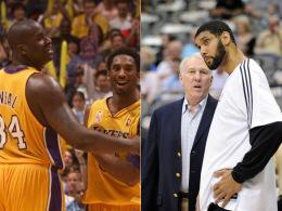 Lakers und Spurs