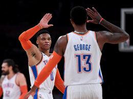 Russell Westbrook und Paul George