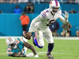 Stürmte mit den Buffalo Bills in die Play-offs: Tyrod Taylor.
