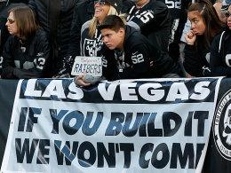 Fans der Oakland Raiders