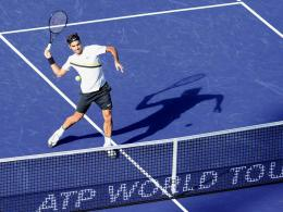 Roger Federer in Indian Wells
