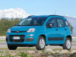 Fiat Panda Natural Power Front