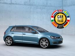 Car of the Year 2013 VW Golf