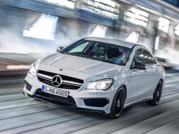 CLA AMG Front