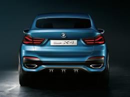 BMW Concept X4 Heck