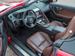 Jagur F-Type Cockpit