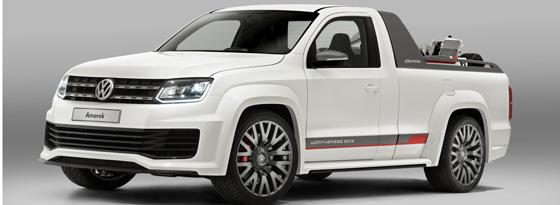 VW Amarok Power-Pickup