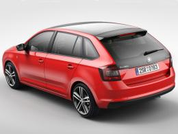 Skoda Rapid Spaceback Heck