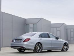 Mercedes S 63 AMG Heck