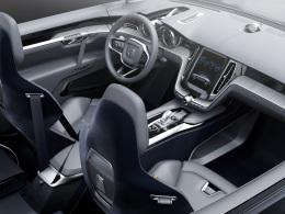 Volvo Concept Coupe Innenraum