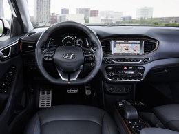 Hyundai Ioniq Electric Cockpit