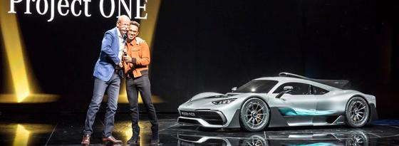 Zetsche, Hamilton, Project One