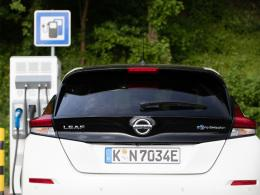 Nissan Leaf Ladestation