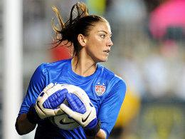 Ist bei den Spielen am Start: US-Nationalkeeperin Hope Solo.