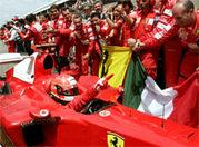 Rekord in Kanada: Michael Schumacher.