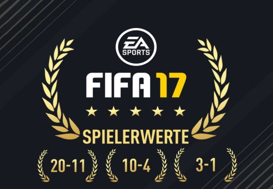 Top-Spieler in FIFA 17