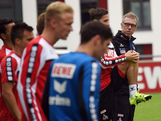 Trainer Peter Stöger