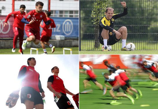Trainingsauftakt Bundesliga