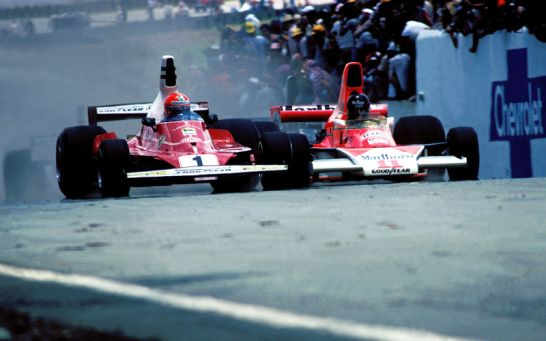1976: Niki Lauda gegen James Hunt