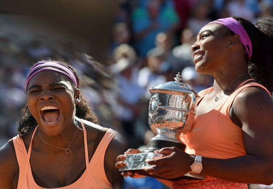 Serena Williams feierte in Paris ihren 20. Grand-Slam-Titel
