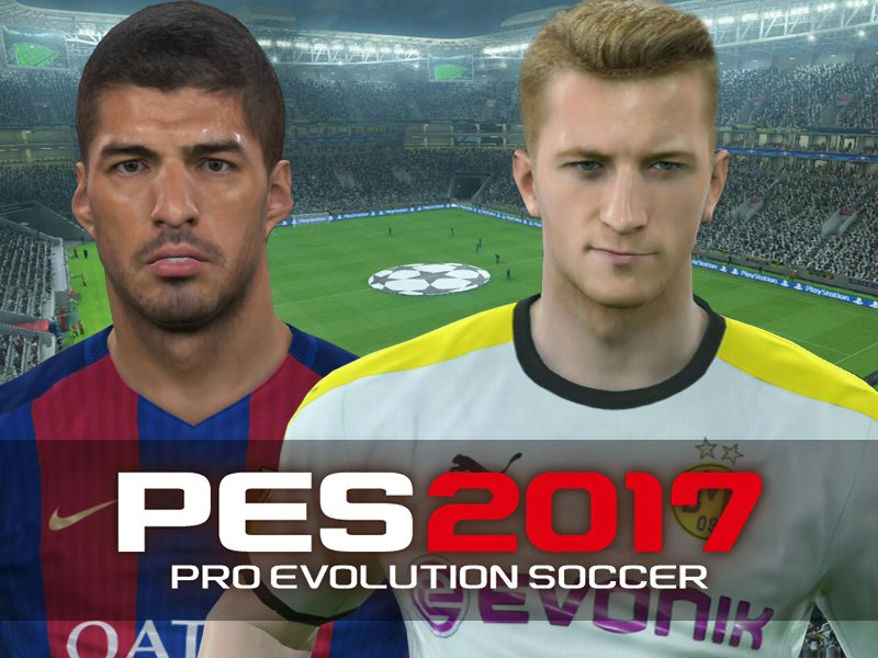reus bale messi die besten st rmer in pes 2017 pes bildergalerie kicker. Black Bedroom Furniture Sets. Home Design Ideas