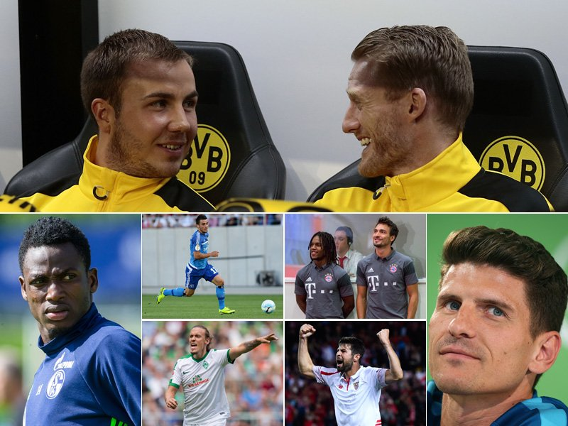 Die Top-Transfers der Bundesliga