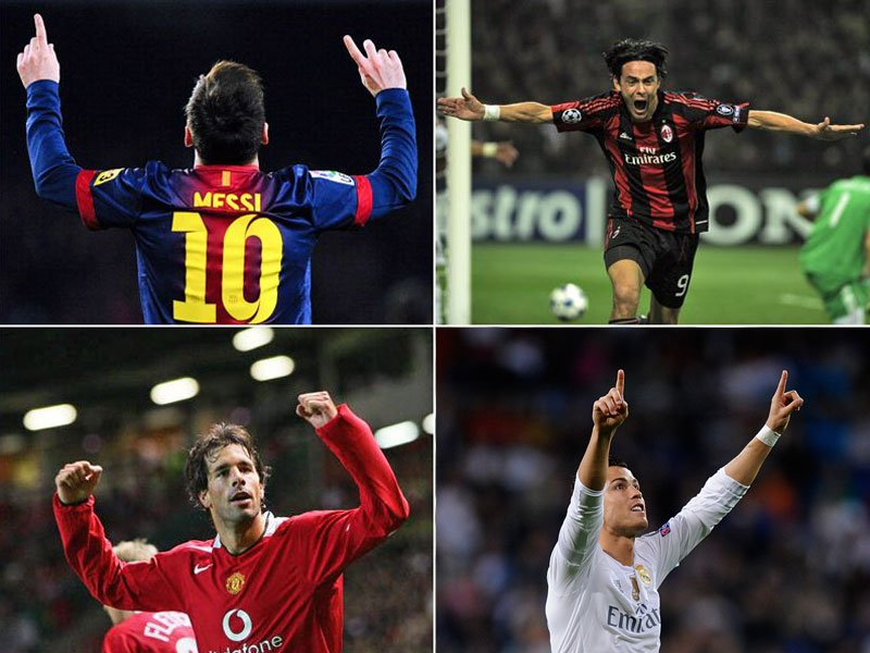 Ronaldo, Messi Raul & Co.: Die Top-Torjäger der Champions League