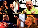 Die Favoriten bei der Darts-WM