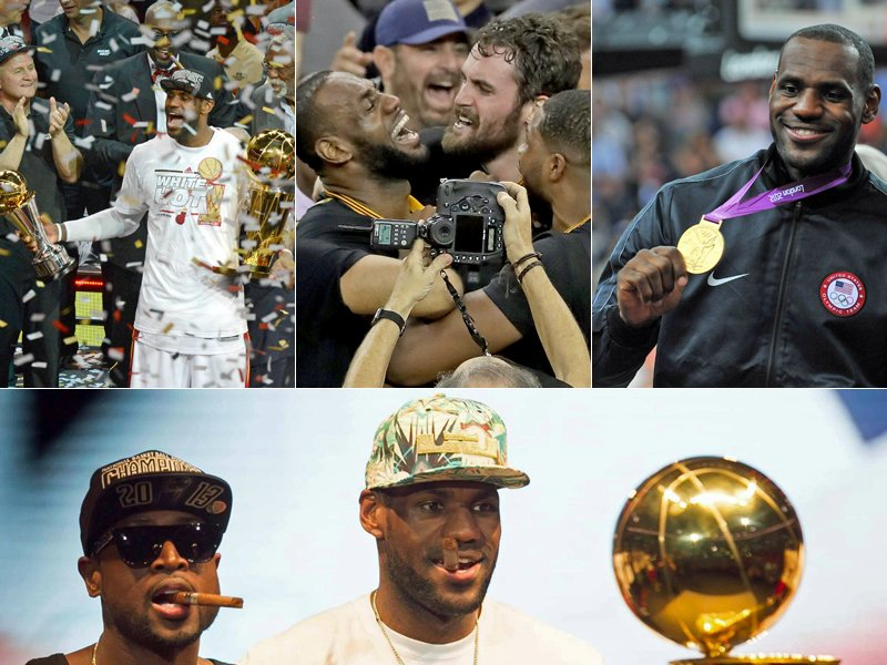 "Titel, MVP, Dominator: Die Karriere von ""King"" James"