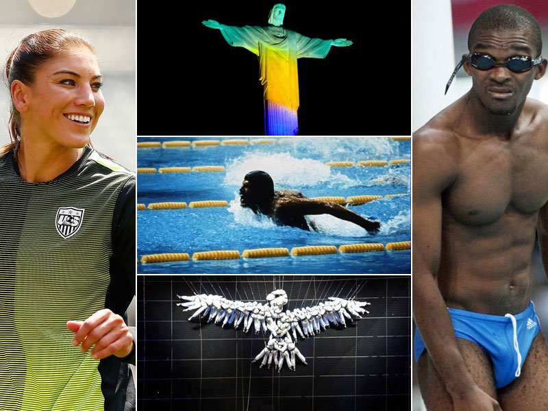 Hope Solo, Mark Spitz und