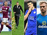 John Terry, Alex Meier, Robert Huth, Jan Kirchhoff (v.l.)